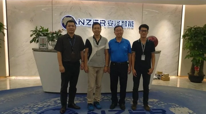 Anze Intelligence promotes the popularization and promotion of robot products with China's independe